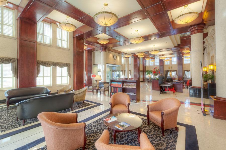 TTU West Hall Foyer